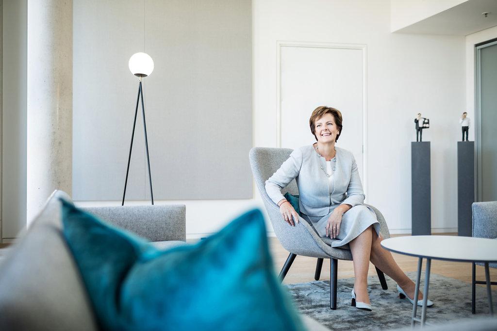 Jill Ader CEO von Egon Zehnder